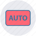 auto, auto mode, auto shooting, camera mode, digital camera, photo, photography icon
