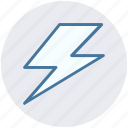 camera, camera flash, flash, photo, photography, storm icon