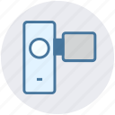 camera, handycam, photo, photography, picture, video, video camera icon