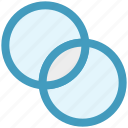 circles, filter, graphic, intersection, photography, vin diagram