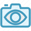 camera, digital camera, eye, photography, picture, resolution, view icon