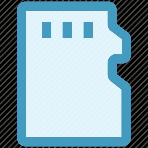 card, memory card, micro, micro sd, sd card, storage icon