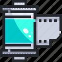 camera, edition, film, roll icon