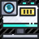 camera, digital, electronics, photo, photograph, picture, technology icon