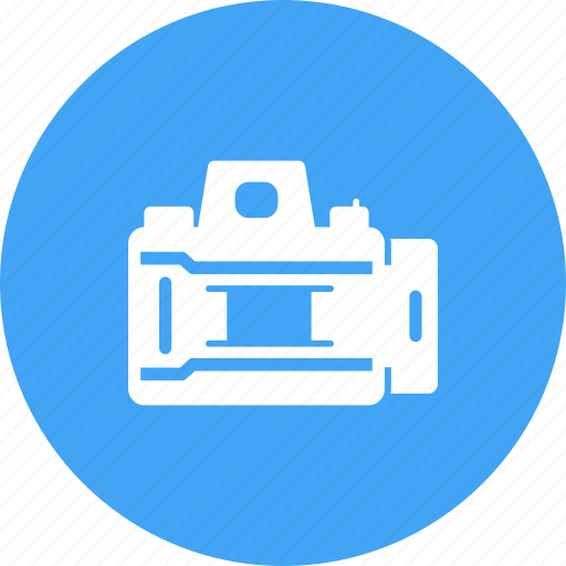 Camera, equipment, lens, open, opening, photo, shutter icon - Download on Iconfinder