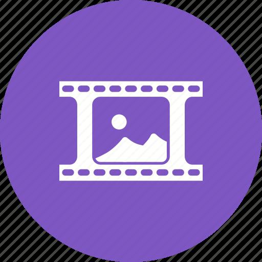cinema, entertainment, film, motion, movie, reel, roll icon