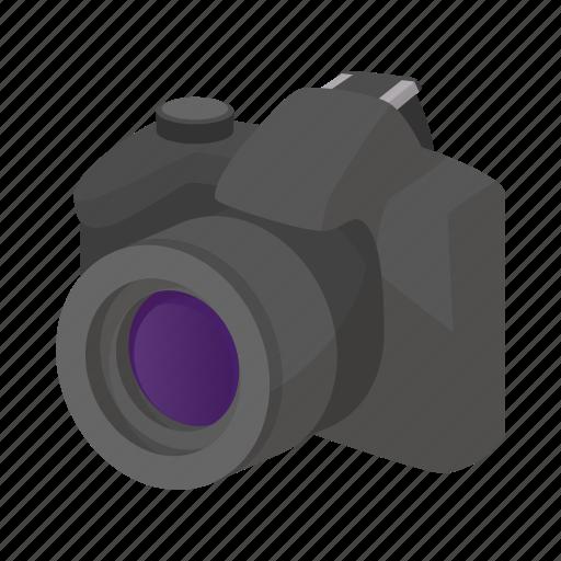 camera, cartoon, design, element, photo, sign, style icon