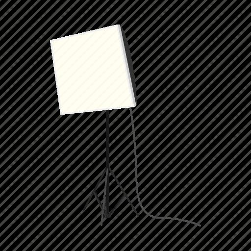 Cartoon, design, element, lamp, sign, studio, style icon - Download on Iconfinder