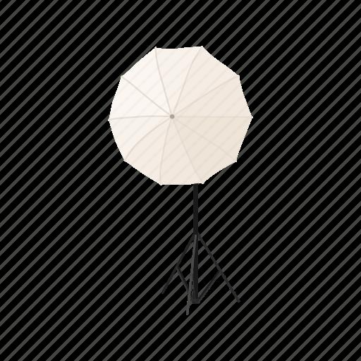 cartoon, design, flash, sign, studio, style, umbrella icon