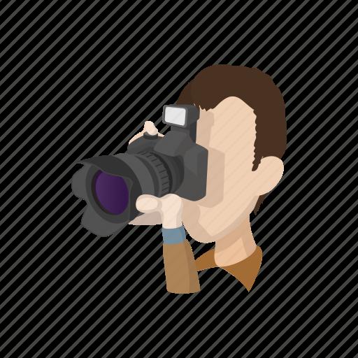 cartoon, design, element, male, photographer, sign, style icon