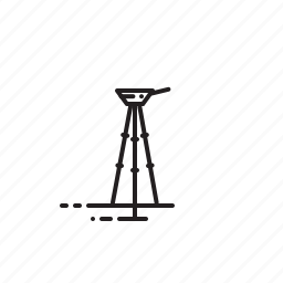 camera tripod, photography, tripod icon