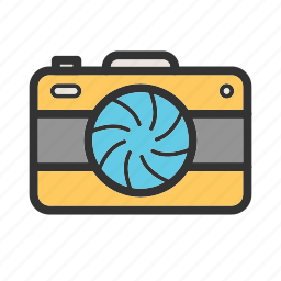 camera, film, lens, light, recording, studio, video icon