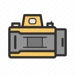 camera, equipment, lens, open, opening, photo, shutter icon
