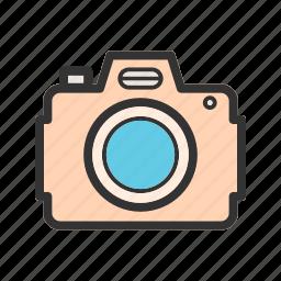 camera, canon, digital, dslr, lens, photo, technology icon