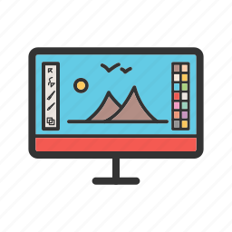 camera, change, edit, filtered, frame, photo, settings icon
