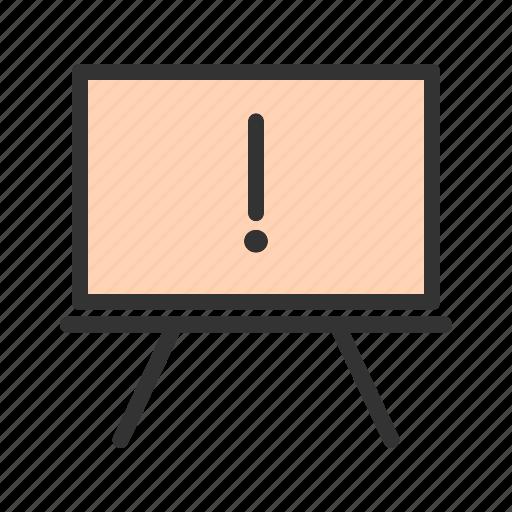 board, draw, hand, memo, note, notice, pin icon
