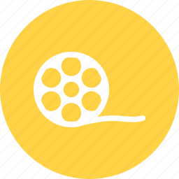 film, movie, roll icon
