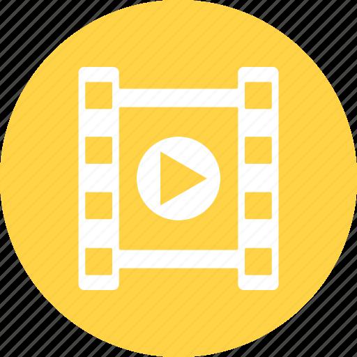 film, photo, photogravure, video, video play icon