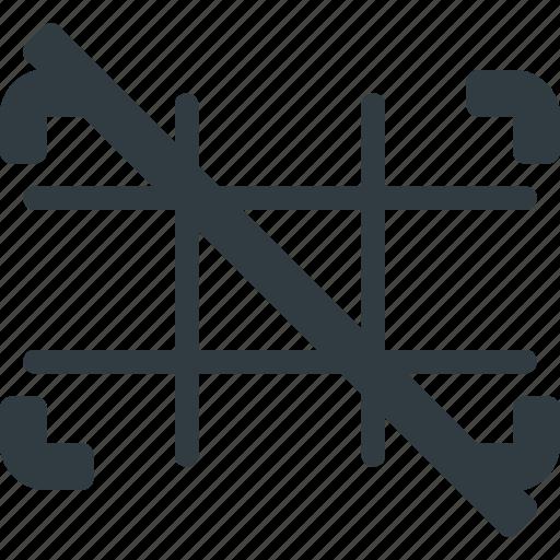 camera, grid, image, off, photo, photography icon