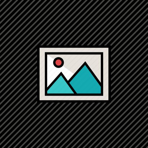 image, landscape, photo, photography, picture icon