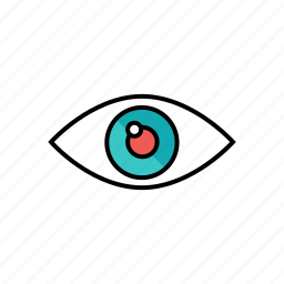 eye, photography, view, visibility, zoom icon