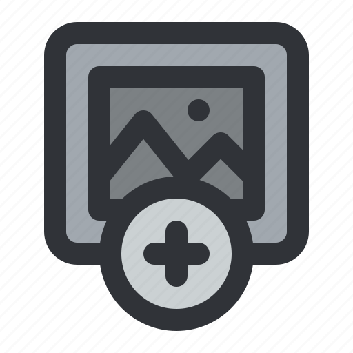 Add, image, photo, picture, plus icon - Download on Iconfinder
