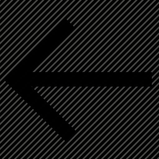 arrow, back, backward, prev icon