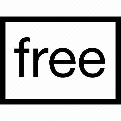 free, horizoltal, ratio, rectangle, size icon