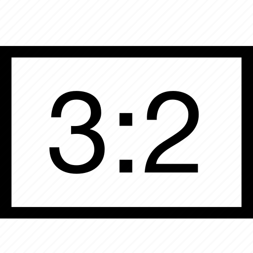 horizoltal, image, layout, photo, ratio, rectangle icon