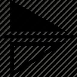 editor, flip, mirror, vertical icon