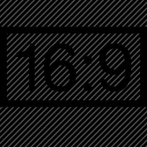 horizontal, layout, photo, ratio, rectangle icon