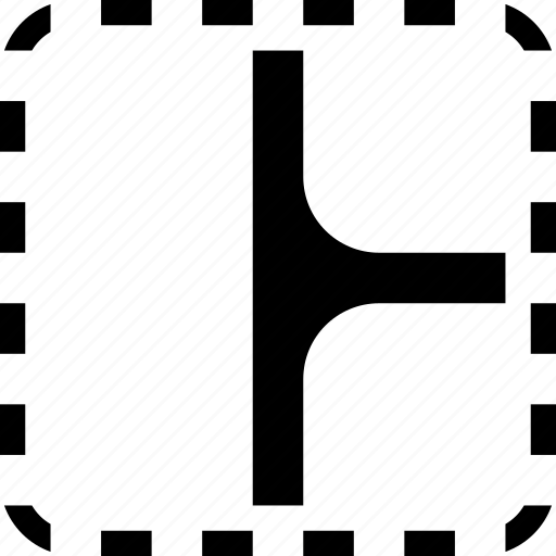 collage, corner, layout, radius, roundness icon