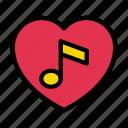 favorite, music, love, melody, media