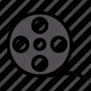 reel, camera, film, movie, multimedia