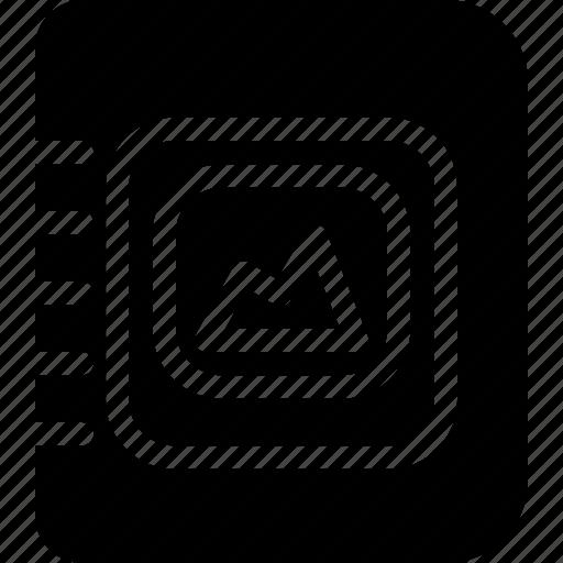 album, camera, celebration, collection, copy, creative, events, festival, gallery, grid, image, images, list, marriage, memory, paste, photo, photo-album, photos, remembrance, save, shape, sort, trips icon