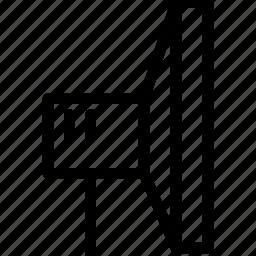 box, building, camera, cinema, creative, display, emit, equipment, film, grid, image, lightbox, line, media, movie, multimedia, music, photo, photos, photoshoot, record, shape, shoot, studio, studio-lightbox, video, visual, work, workroom icon