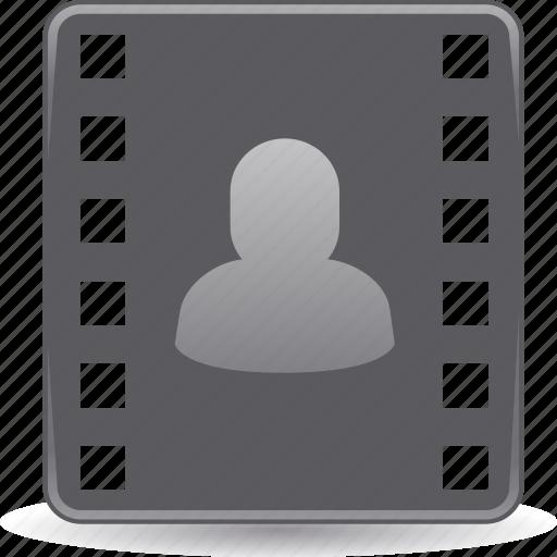 cinema, entertainment, ticket, video camera icon