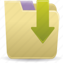 accessories, file folders icon