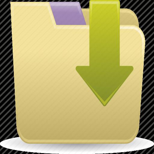 accessories, file folders icon