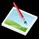 image, paint icon