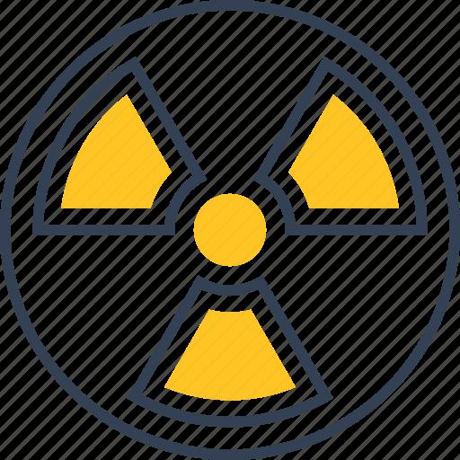 Danger, label, physics, radiation icon - Download on Iconfinder