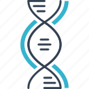 dna, physics, science icon
