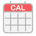 android, calendar, date, dates, month, numbers, ui icon