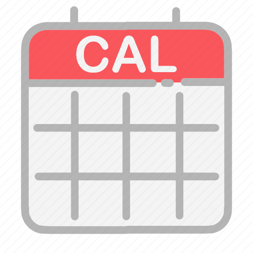 Calendar Icon Android : Android calendar date dates month numbers ui icon