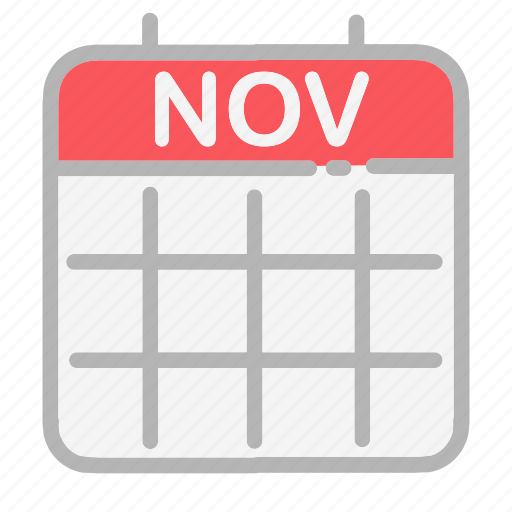 calendar, date, dates, month, november, numbers, ui icon