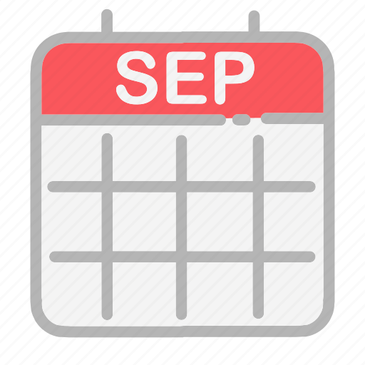 calendar, date, dates, month, numbers, september, ui icon