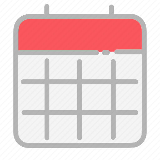 calendar, date, dates, month, numbers, ui, year icon