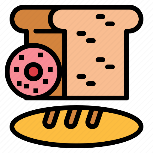 bread, breads, food, healthy icon