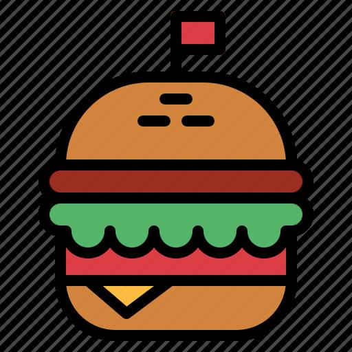 burger, cheese, fast, food, hamburger icon