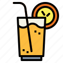 drink, juice, orange, soda icon